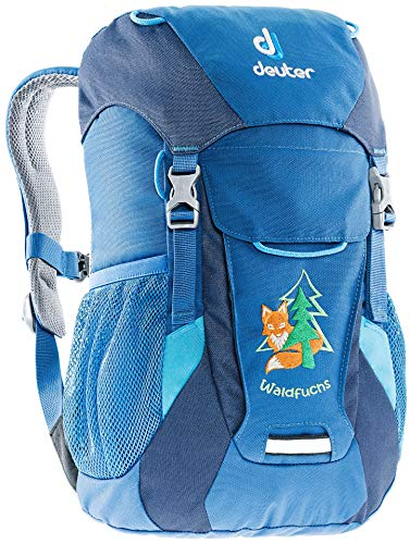 Deuter Unisex-Youth Waldfuchs Rucksack, Bay-Midnight, 35 x 25 x 15 cm, 10 L