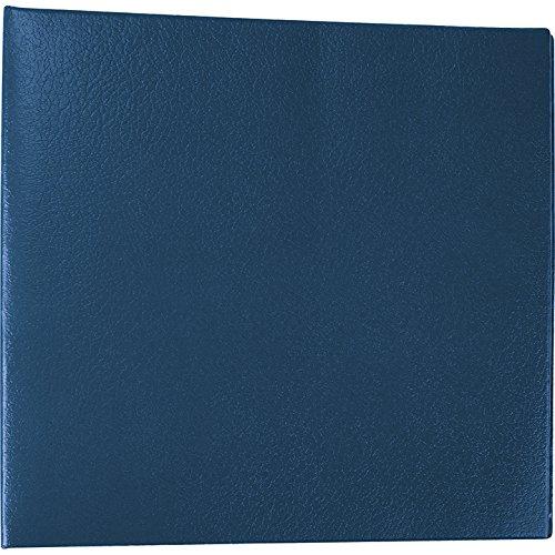 EGP End Stub Deskbook Checks Cover, 9 1 2  x 9 , Blue