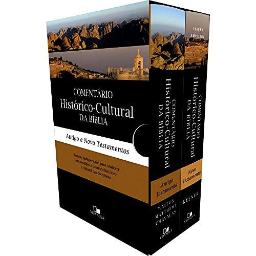 Box Comentário histórico-cultural da Bíblia