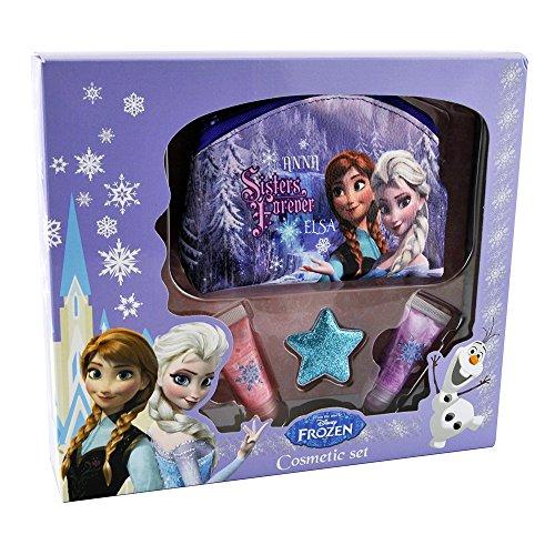 Frozen - Disney geschenk met make-up kit - bevroren sneeuwkoningin, 1-pack (1 x 1 stuks)