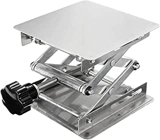 Lift Platform,Laboratory Manual Lift Platform Manual Height Adjustable Lifting Table 100 * 100mm 150 * 150mm 200 * 200mm O...
