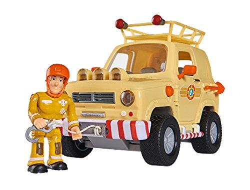 Simba 109251001 Feuerwehrmann Sam Tom\'s, 4 x 4 Geländewagen