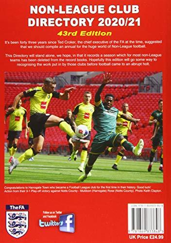 Non-League Club Directory 2020/21