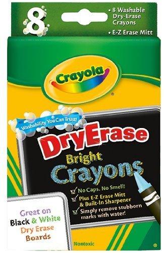 mart Crayola 98-5200 Multi-Color Washable 8 Crayons Max 69% OFF Pack DryErase