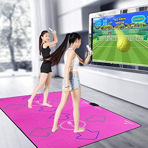 Buy GuiPing Double Non-Slip Matte Dancing Blanket Wireless TV Computer Dual-use Somatosensory Dancin...