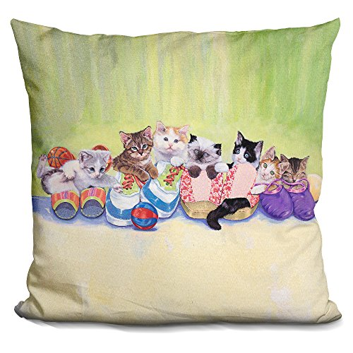 LiLiPi Little Rascals Decorative Accent Throw Pillow