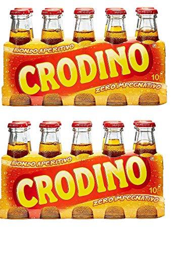 20x San pellegrino Crodino 100 ml Aperitif ohne Alkohol bitter aus italien