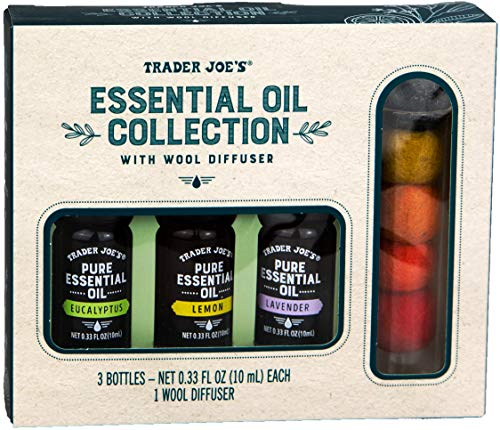 Trader Joe's Essential Oil Collection with Wool Diffuser (Orange)