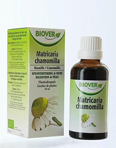 Biover - Flüssiger Auszug Matricaria chamomilla Organisch zertifiziert - 50 ml