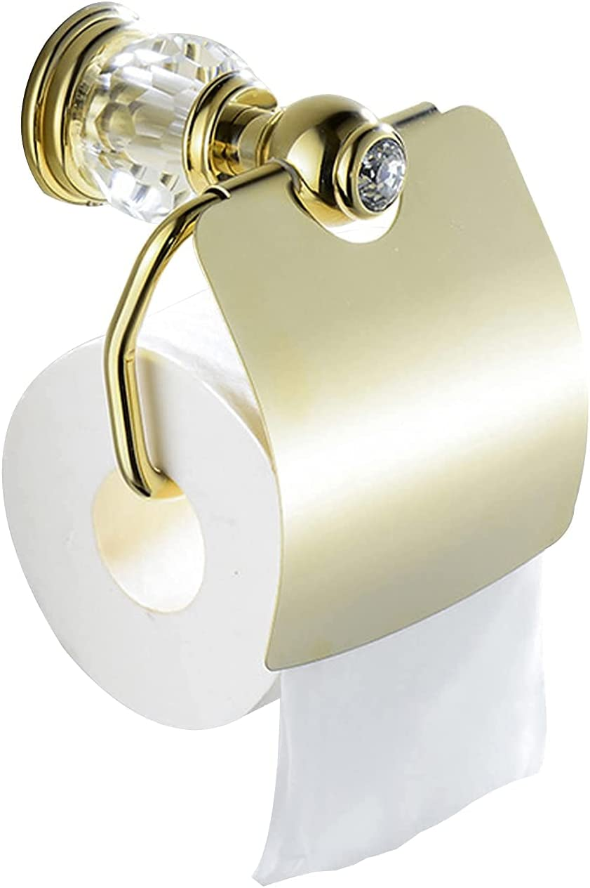 Riyyow Home Toilet Paper Memphis Mall Hol Holder Crystal Series List price