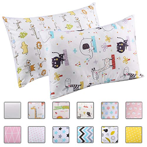 Cloele Kids Toddler Pillowcases,...