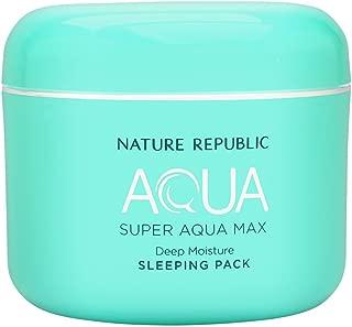 Nature Republic Super Aqua Max Deep Moisture Sleeping Pack 100ml/3.38oz