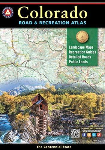 Colorado Road Recreation Atlas Benchmark Recreation Atlases product image