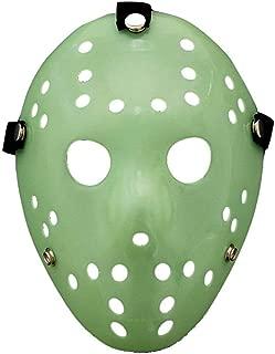 Jason Mask Masquerade Mask Cosplay Costume Halloween Killer Halloween Mask - Green