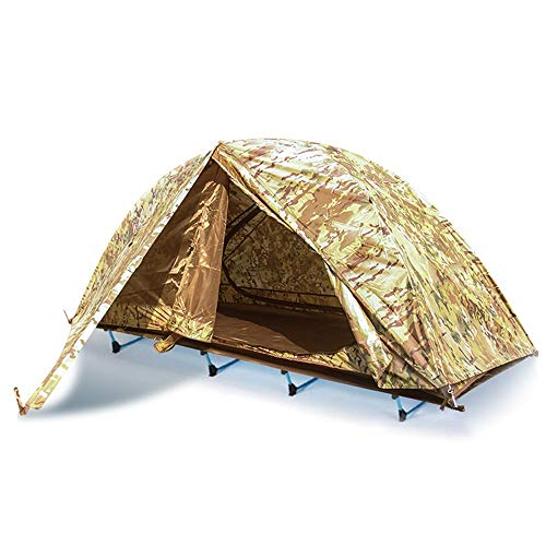 JooGoo Outdoor 2-persoons Dome Tent Ultra-lichte Camping Automatische Dubbellaagse Riot-proof Verdikking Off-ground Tent