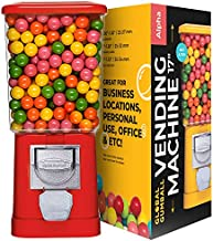Gumball Machine - Bouncy Balls Vending Machine - Toys Vending Machine - Capsule Vending Machine - Red Body - Without Stand