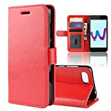 LAGUI Case Compatible For Wiko Sunny 3, Flashy Flip Wallet