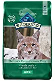 Blue Buffalo Wilderness High Protein Grain Free, Natural Adult Dry Cat Food, Duck 11-lb