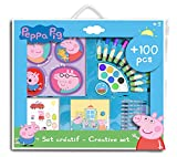PEPPA PIG - Kit creativo para niños, color azul