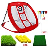 Best Golf Practice Mats - Pop Up Golf Chipping Net | Perfect Golf Review