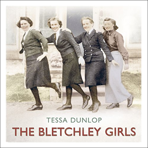 The Bletchley Girls audiobook cover art