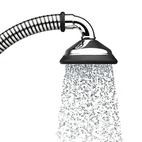 BUBBLE-RAIN Duschbrause espresso XL. Ausgezeichnet mit dem Blauen Engel. Nachhaltig duschen mit luftgefüllten Wasserblasen = über 60% Wasser- und Energieeinsparung. Aus alpenländischer Manufaktur.