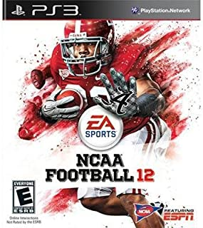 Exclusive NCAA Football 12 PS3 By Electronic Arts