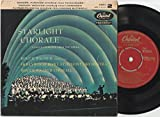 The Hollywood Bowl Symphony Orchestra - Starlight Chorale Famous Choruses From The Opera Part 2 - 7' EP 1957 - Capitol Records SFP2-8390 - UK Press
