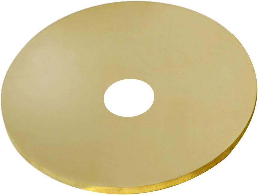 LEISHENT Brass Cheap bargain Sheet Denver Mall General Use DIY Contractors for or Diameter