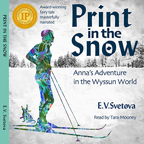 Print in the Snow audiobook cover art