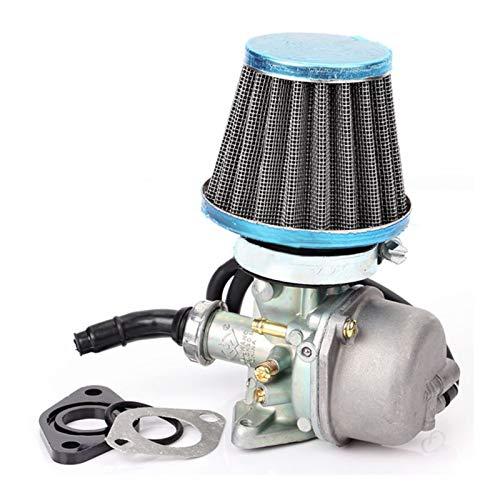 UGUTER Go Kart Carburetor Carburador pz19 carbohidratos por 70 90 110 CC ATV Quad 4 Wheeler Dirt Bike Motorbike Carburador de Motocicletas con Filtro de Aire Carburador 125cc