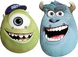 Monsters, Inc Monsters University University Twin Pack di Personaggi - 2 Diverse Maschere in Costume realizzate con Una Carta Rigida