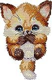 Awesocrafts Lovely Fox Easy Patterns Kit Bordado Punto Cruz...