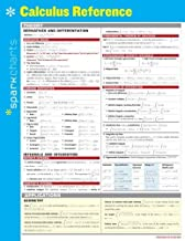 Calculus Reference SparkCharts by SparkNotes (February 4, 2014) Wall Chart