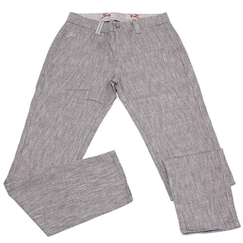 Carlo Chionna 5059X Pantalone Uomo 9.2 Blue Cotton Trouser Man [32]