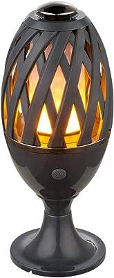 Lampe de table à LED à piquet de terre Lampe à effet de feu pour éclairage extérieur de jardin Globo 39901