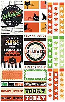 Paper House Productions STPL-0021 Fifth Avenue Weekly Kit Planner Stickers 3-Pack