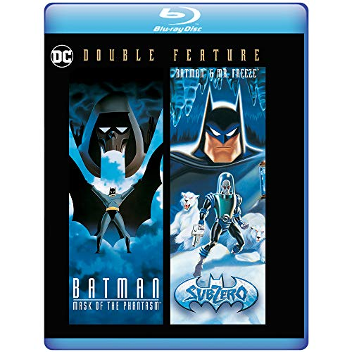 Batman Mask of the Phantasm/Batman & Mr. Freeze: SubZero-2 Film Collection [Blu-ray]
