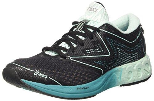 Asics Noosa Ff, Zapatillas de running Mujer, Multicolor (Black/Bay/Viridian Green), 43.5 EU