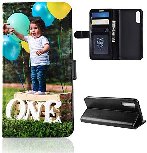 Für Samsung Galaxy A51 Personalisierte Foto-Handyhülle, Flipcase Personalisierte Individuelle Ihr Eigenes Bild Foto Brauch Schutzhülle Handy Hülle Tasche Flip Book Case Cover, für Samsung Galaxy A51