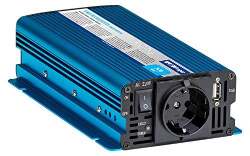 BERGER Sinus-Wechselrichter Sinusspannung bei 230 V Spannungswandler Einsatz bei Solaranlagen (300 W)
