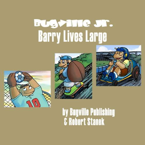 Barry Lives Large audiobook cover art