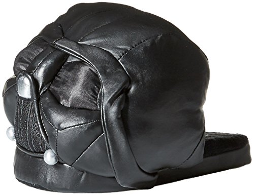 Star Wars Darth Vader 3D Plush Slippers (Small) Black