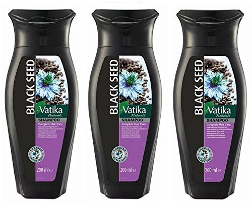 Shampooing Vatika Blak Seed - 3 x 200 ml