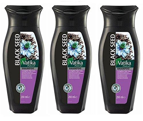 Vatika Blak Seed Shampoo - 3 x 200ml