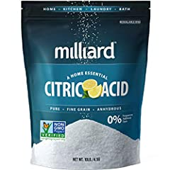 The fine granular NON-GMO citric acid is a kitchen essential used in preserving, flavoring, and cleaning completely; preserves the Vitamin C content of a food product. Adds an acidic or sour taste to meat, candy, soft drinks, and ice cream. It keeps ...