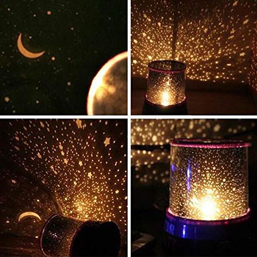 PXN LED Night Light Starry Sky Projector Star Magic Star Moon Planet Space Projection Lamp Universe Decoration Lamp, Univers Master