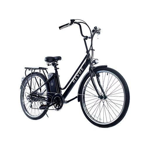 Revoe e-bike, Citybike. Nera, cerchi in lega, 26'', velocit massima 25...