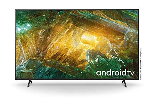 Sony KD75XH8096, 4K Ultra HD, LED, Smart TV, 189 cm [75 Zoll] - Schwarz