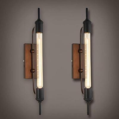 Aplique de pared estilo LOFT vintage Lámpara de pared industrial ...